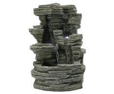 ZenLight, SCFR150, Fontana zen in pietra Grand Canyon, 19 x 16 x 28 cm
