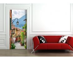 StickerProfis Poster Adesivo da Porta e pareti - Lago Romance - murale Foglio di Porta Meer (See Romantik)