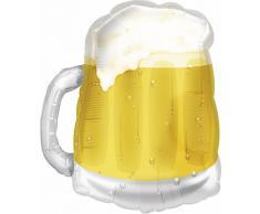 Palloncino super shape beer boccale di birra