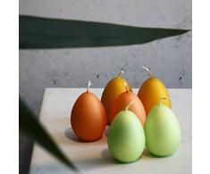 Set di Uova di Pasqua 60 X 45 mm – Candele uovo di Pasqua Uovo di Pasqua candela