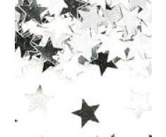 Argento ciondoli stelle metallico Coriandoli