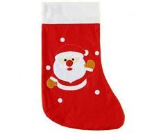 Babbo Natale kuheiga calzino Natale calza con Babbo Natale