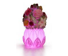 Candele a LED con timer senza fiamma candele Pasqua Dipinto A Mano Con Colori Cangianti LED candela von eluvian Design