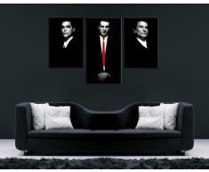 """'""""Goodfellas Arte immagini su tela 120 x 80 cm K. Poster. Tela già su telaio. Pop Art dipinto stampe artistiche, immagini da parete decorative, stile. Film/Movie/Tv Stars stampe artistiche"""