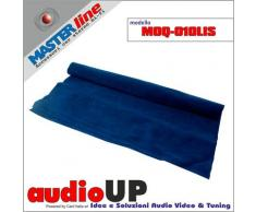 Moquette acustica fonotrasparente liscia colore blu scuro. Dimensioni cm70x140