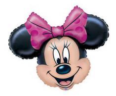Palloncino super shape Minnie head testa Disney