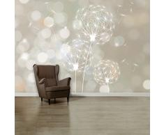 CARTA DA PARATI FOTO 'Blown Dandelion 107' 366 x 254cm fiore soffione giardino - fotomurali - poster gigante - inclusivo pasta polvere di colla NUOVA XXL