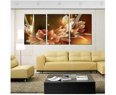 vidaXL 5x Stampa su Tela da Muro Set Fiori di Ciliegio Decoro Arte Quadro Casa