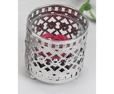 formano romantica candela candeliere in argento