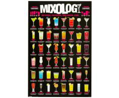 1art1, 49075, Poster, motivo: Cocktails - Mixology, 91 x 61 cm
