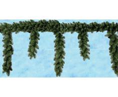 Boa a tenda verde decorazione natalizia per balcone o veranda cm 270