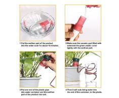 Set Per Irrigazione a Goccia,GRDE® Irrigazione Automatica Interno Sonde di Auto-irrigazione per Bonsai Impianto Fiore Indoor (8 PACK).