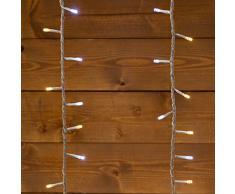 XMASKING Tenda 3 x h 1,1 m, 336 LED Bianco Freddo e Bianco Caldo, con Memory Controller, Cavo Trasparente, luci di Natale, Tende Luminose