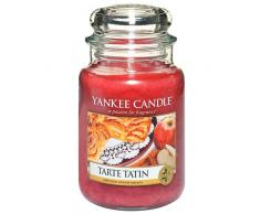 Yankee Candle, Candela Profumata in Barattolo Di Vetro, Tarte Tatin, 623 G