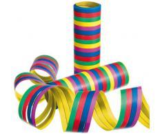 Susy Card 11144706 - Stelle filanti, 10 rotoli, colori assortiti (giallo, viola, blu, rosso, verde)