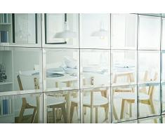 My-Furniture 6 Piastrelle a specchio quadrate per muro 30cm x 30cm - bordi smussati - bagno e cucina