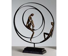 Casablanca Scultura 'Pazienza', 34 X 41 Cm, Bronzo