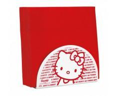 Hello Kitty 6KTY076 Apple-Porta asciugamani, colore: rosso, 14,6 x 8,9 x 6,2 cm