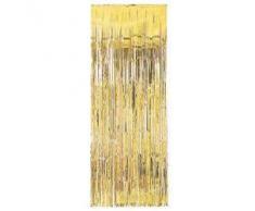 92 centimetri x 244 centimetri Foglia Oro Tenda - Made PARTY / Decorazione di Natale (MI93)