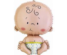 Amscan International Palloncino Neonato Benvenuto Al Mondo Welcome Baby Con Forma Fantastica
