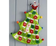 Wer Natale - 40 cm, calendario dellavvento, DISEGNO o verde albero di Natale
