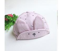Topgrowth Bambino Coniglietto Visiera Cappellino da Baseball Casquette Cotone Pasqua Cappello con Visiera Berretto 1-3 Anni (Rosa)