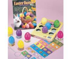 Ovetti di Pasqua Colorati - 5 Varianti - Coniglietto di Pasqua