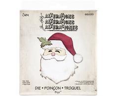 Sizzix Bigz Fustella - Babbo Natale di Tim Holtz