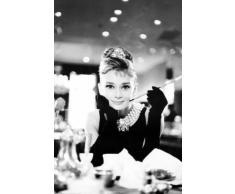 """Empire 18571 - Poster film """"Colazione da Tiffany, Audrey Hepburn"""", ca. 91,5 x 61 cm"""