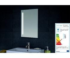 LUX Aqua Design specchio da parete specchio da bagno LED illuminazione con 420 lumen MT60 – 40
