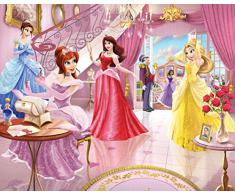 Walltastic Fata Principessa Carta da Parati Murale, Multicolore, 52.5x7x18 cm