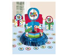 Amscan - Set per decorazione festa di compleanno, motivo Happy Birthday