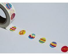 Uova colorate Washi nastro decorativo