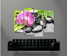 Orchidea gialla zen quadri moderni arredo casa quadro stampa tela