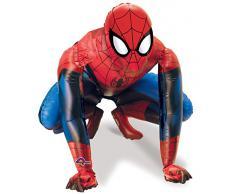 Amscan International 2348301, Palloncino Spiderman, 91 x 91 cm, Multicolore