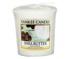 YANKEE CANDLE Samplers Candele Votive Shea Butter, Cera, Bianco, 4.6x4.5x5.3 cm
