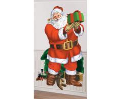 Amscan 1.65 m x 85 cm Decorazione Babbo Natale