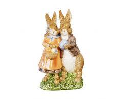 misslight Statuette del Coniglietto di Pasqua Ornamenti in Resina Decorazione di Pasqua del Coniglio (Style2)