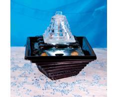 Berk Zen fontana Chan con illuminazione a LED bianca