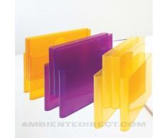 Kartell Magazine Rack Portariviste, Cristallo, 18.5 x 34.5 x 40 cm