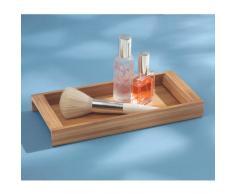InterDesign Formbu Vassoio Cosmetici, Bambú, Beige, 40.5x15x3 cm