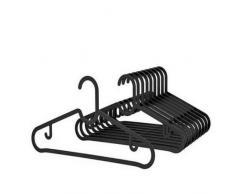 2 x IKEA SPRUTTIG 10 Grucce plastica nere