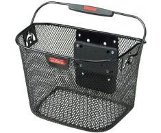 Rixen und Kaul Klik-Fix Mini 818936 - Cestino per manubrio bicicletta, colore nero