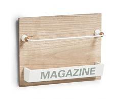 ZELLER PRESENT - Zeller Nordic 15117 Portariviste da parete in legno