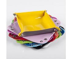Bureze Honana hn-b50 Colorata in PVC, con Chiavi e Monete in Scatola ripostiglio da scrivania svuotatasche