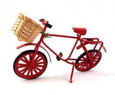 Mobili Giardino In Miniatura Casa Delle Bambole Accessori Di Negozio Rossi Acquisti Moto Bicicletta cesto di w
