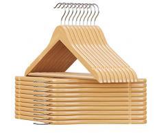 Gruccia per abiti acquista grucce per abiti online su - Grucce legno ikea ...