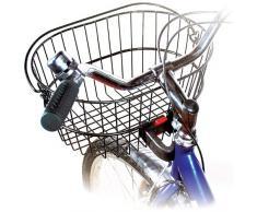 Rixen & Kaul, Adattatore per fissaggio cestino da manubrio bici Frame , Nero (schwarz - schwarz)
