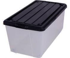 Scatola in plastica acquista scatole in plastica online - Contenitori sottoletto con ruote ...