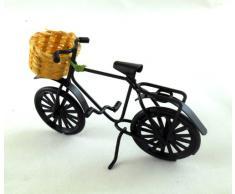 Mobili Giardino In Miniatura Casa Delle Bambole Accessori Di Negozio Nero Acquisti Bici Bicicletta cesto di w